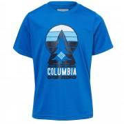 Columbia Always Outside S/S Shirt Kinder Gr. 116 - Funktionsshirt - blau