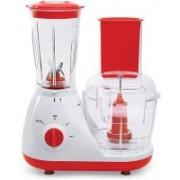 sourceindiastore HIMFP 250 W Food Processor (White) 250 W Food Processor(red and white)
