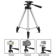 Newvez 3110 Portable Foldable Camera Tripod With Mobile Clip Holder Bracket
