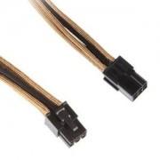 Cablu prelungitor BitFenix Alchemy 6-pini PCIe, 45cm, gold/black, BFA-MSC-6PEG45AKK-CK