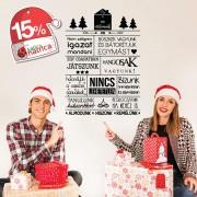 Ez a mi otthonunk Falmatrica - Karácsonyi AKCIÓ - 84Sz x 119M