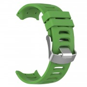 Silicone Watch Strap Replacement Wristband for Garmin Forerunner 610 - Green