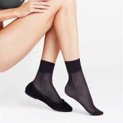 Falke Nylonstrumpor Pure Matt 20 Anklet Black