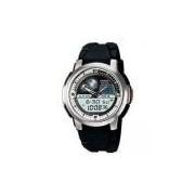 Relógio Casio Standard Anadigi Aqf-102w-7bvdf Branco/preto