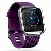 Fitbit Blaze elegante reloj de la aptitud purpura Pequeno