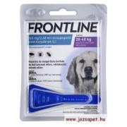 3 db Frontline Spot On L kullancs, bolha ellen közepes (20-40kg) kutya számára