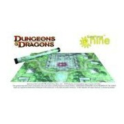 D&D Jungle Temple Game Mat