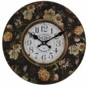 Nástenné hodiny s kvetmi H93346