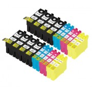(20pack) EPSON T1306 multipack - kompatibilné náplne do tlačiarne Epson