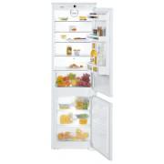 Combină frigorifică încorporabilă Liebherr ICS 3324, 274 L, SmartFrost, Siguranţă copii, SuperFrost, Iluminare cu LED, Display, Control taste, H 178 cm, Clasa A+