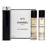 Chanel No.5 Eau Premiere - Refillable Eau de Parfum da donna 3 x 20 ml