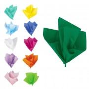 Partygram Hojas de papel de seda de colores de 66 x 51 cm - 10 unidades - Color Verde oscuro