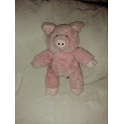 "Pink Pig Farm Plush Toy Large 17"" Collectible"