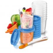 Philips Avent čašice za spremanje hrane Via