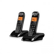 Motorola Trådlös telefon Motorola S1202 Duo Black White