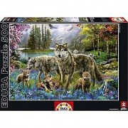 Educa Borras Famille De Loups Puzzle (500 Piece)