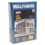 "Walthers HO Scale Rail Shops Cornerstone Series® Car Shop Kit 11-5/8 x 8-13/16 x 7-5/8"""