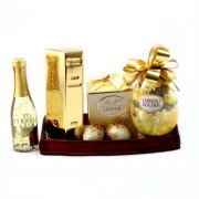 Cadou Paste Pure Gold Gift Tray