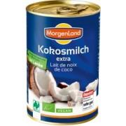 Lapte de cocos BIO extra 400 ml MORGENLAND