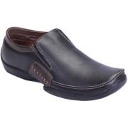 Shoebook MenS Classic Black Formal Slip On