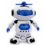 DY Electronic Dancing Robot with 3D Lights and Music Multi Color