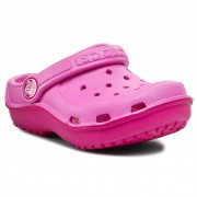 Șlapi CROCS - Duet Wave Clog K 200367 Party Pink/Candy Pink