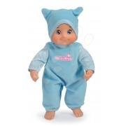 MiniKiss păpuşă de jucărie albastră cu sunet şi cu căciulă 27 cm înalt de la vârsta de 12 luni SM210102-1