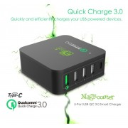 Dock de incarcare cu multi-USB si QualComm Quick Charger