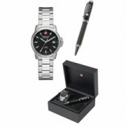 Ceas SWISS MILITARY WATCHES Mod. SWISS RECRUIT LADY PRIME GIFT SET