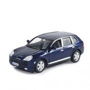 Kinsmart 1:38 Scale Porsche Cayenne Turbo Metal Car (Blue)