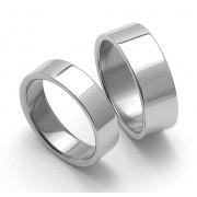 Snubní ocelové prsteny ZERO Collection rz06000+rz08000