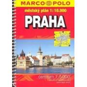 Marco Polo Praha, městský plán 1:10000