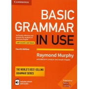 Basic Grammar in Use Student's Book with Answers and Interactive eBook: Self-Study Reference and Practice for Students of American English, Hardcover
