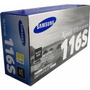 Toner Samsung MLT-D116S Original Rendimiento 1,200 Paginas Para Xpress M2625 M2626 M2825 M2826 M2835 M2836 M2675 M2676 M2875 M2876 M2885 M2886 Color-Negro