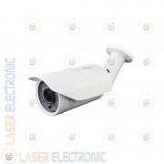 Telecamera Professionale Bianca Varifocale 1200TVL Sensore Sony Imx238 Visione Notturna 60MT