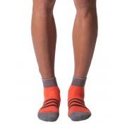 ADIDAS Run Thin Cushioned Id Ankle Socks Orange