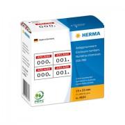 HERMA 4832 etichetta autoadesiva Rosso, Bianco 1000 pezzo(i)