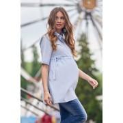 Bluză maternă Ydo albastră XS
