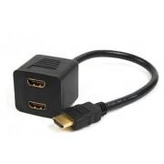 ADAPTADOR HDMI MACHO a 2 HDMI HEMBRA 0.20m