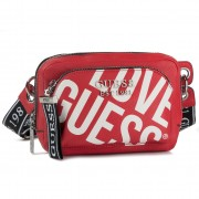 Чанта за кръст GUESS - Haidee (GL) Mini HWGL75 86800 RED