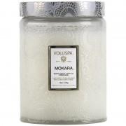 Voluspa Mokara Large Glass Jar Candle (100h)