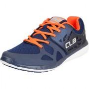 Columbus Men's STAR BUCKS Navy Mesh Running Shoes/Walking/Gym Shoes