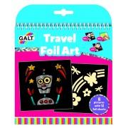 Set creativ pentru copii Galt Imagini cu folie, 8 imagini, 12 folii