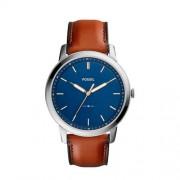 Fossil The Minimalist 3H Heren Horloge FS5304