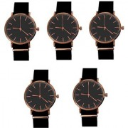 VITREND (R-TM) New Model Attractive Looking Party-Official-Formal Wear Combo(Pack of 5) Analog Watch - For Women