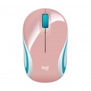 Mouse Logitech M187 Inalambrico Optico USB Blossom Rosa 910-005364