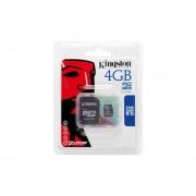 Kingston Tarjeta De Memoria Micro SD De 4GB (con Adaptador SD) Para Palm Treo 500, Treo Pro Y Centro