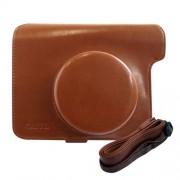 Instax caméra Wide 300 photo Fuji - Case Protector Bag Marron