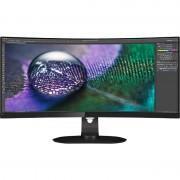 Monitor LED Curbat Philips 349P7FUBEB 34 inch 4ms USB-C Black