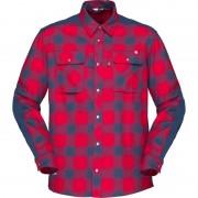 Norrøna Svalbard Flannel Shirt Men Röd